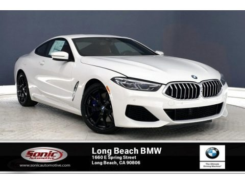 Alpine White 2020 BMW 8 Series 840i Coupe