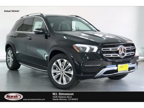 Black 2020 Mercedes-Benz GLE 350