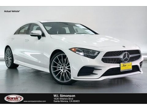 Polar White 2020 Mercedes-Benz CLS 450 Coupe