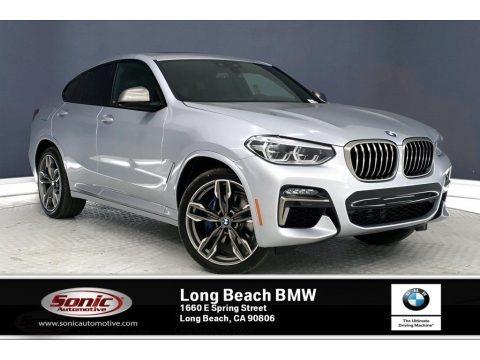 Glacier Silver Metallic 2020 BMW X4 M40i