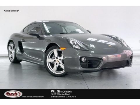Agate Grey Metallic 2014 Porsche Cayman