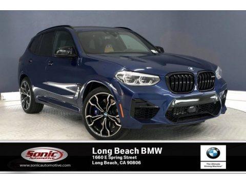 Phytonic Blue Metallic 2020 BMW X3 M Competition