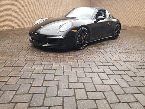 Black 2016 Porsche 911 Targa 4 GTS
