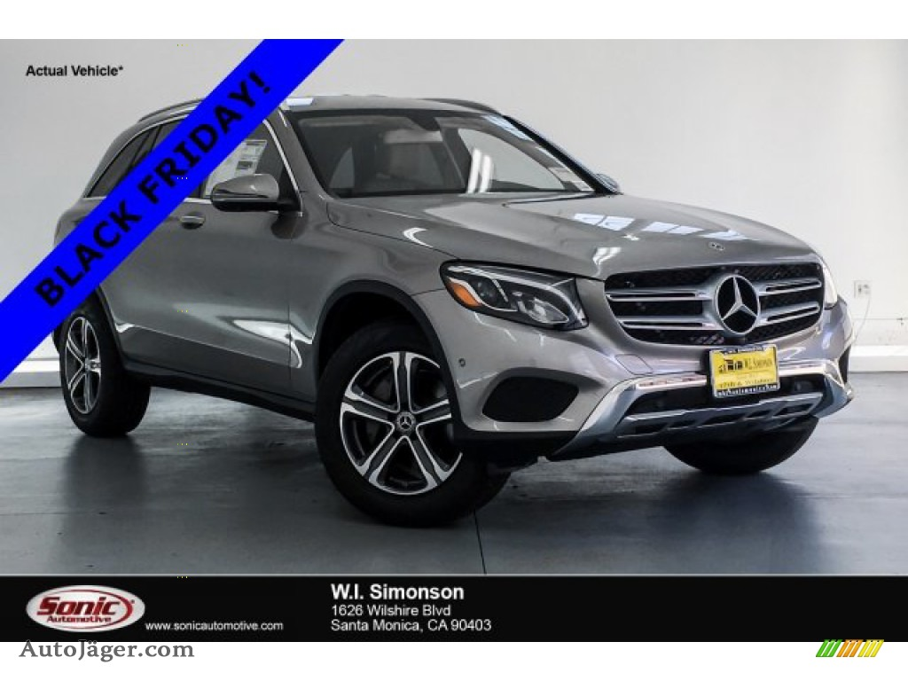 2019 GLC 300 - Mojave Silver Metallic / Silk Beige/Black photo #1