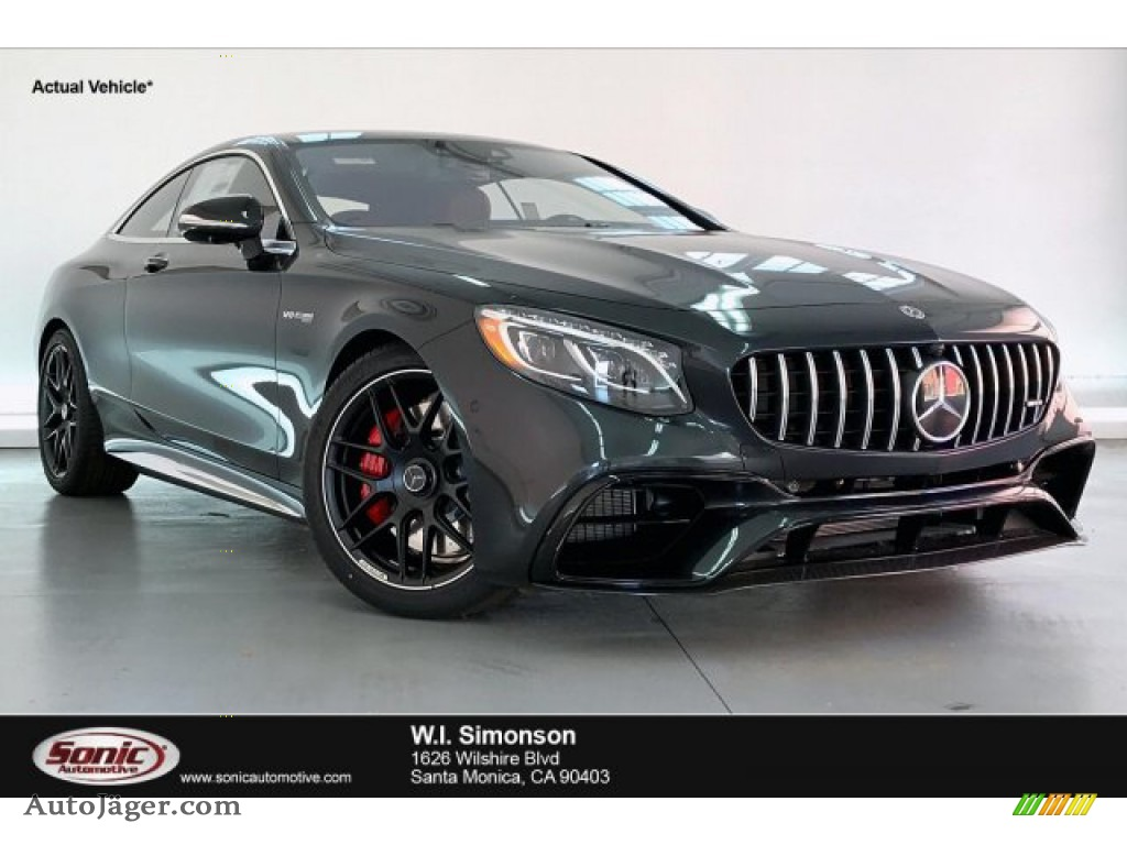 Magnetite Black Metallic / designo Bengal Red/Black Mercedes-Benz S 63 AMG 4Matic Coupe