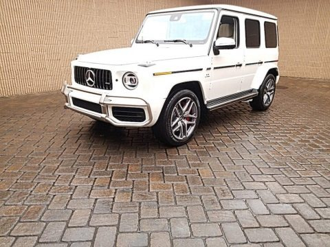 designo Diamond White Metallic 2020 Mercedes-Benz G 63 AMG
