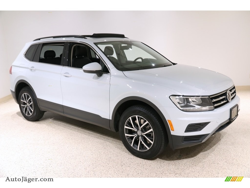 2019 Tiguan SE 4MOTION - White Silver Metallic / Titan Black photo #1