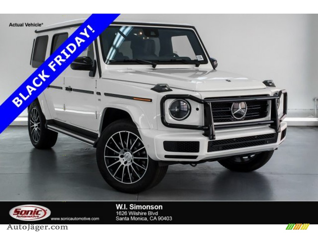 Polar White / designo Espresso Brown/Black Mercedes-Benz G 550