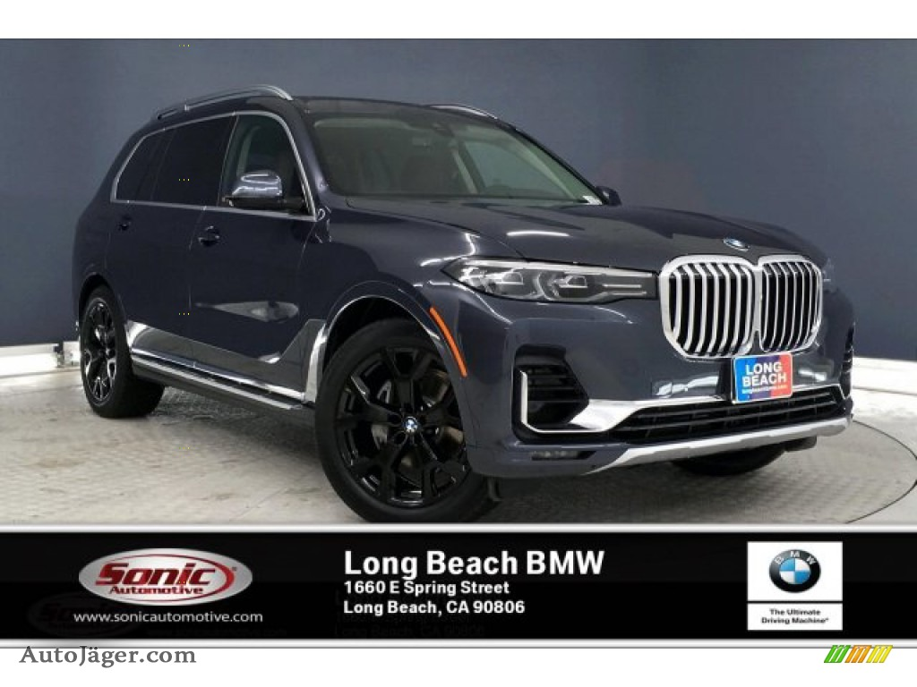 Arctic Grey Metallic / Coffee BMW X7 xDrive40i