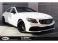 Mercedes-Benz C AMG 63 S Coupe designo Diamond White Metallic photo #1