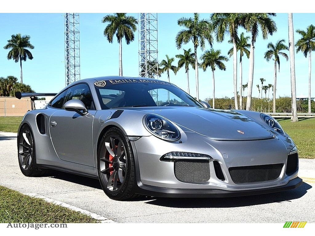 GT Silver Metallic / Black Porsche 911 GT3 RS