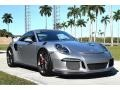 Porsche 911 GT3 RS GT Silver Metallic photo #1