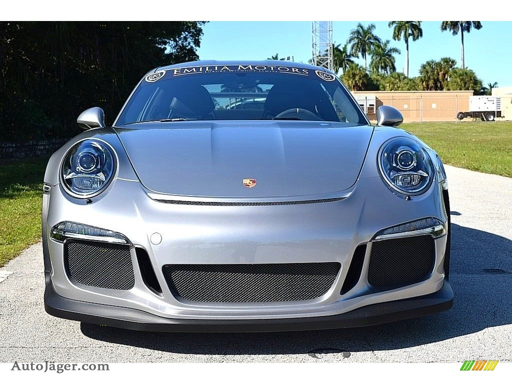 2016 911 GT3 RS - GT Silver Metallic / Black photo #9