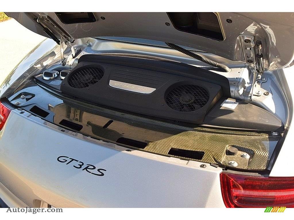 2016 911 GT3 RS - GT Silver Metallic / Black photo #39