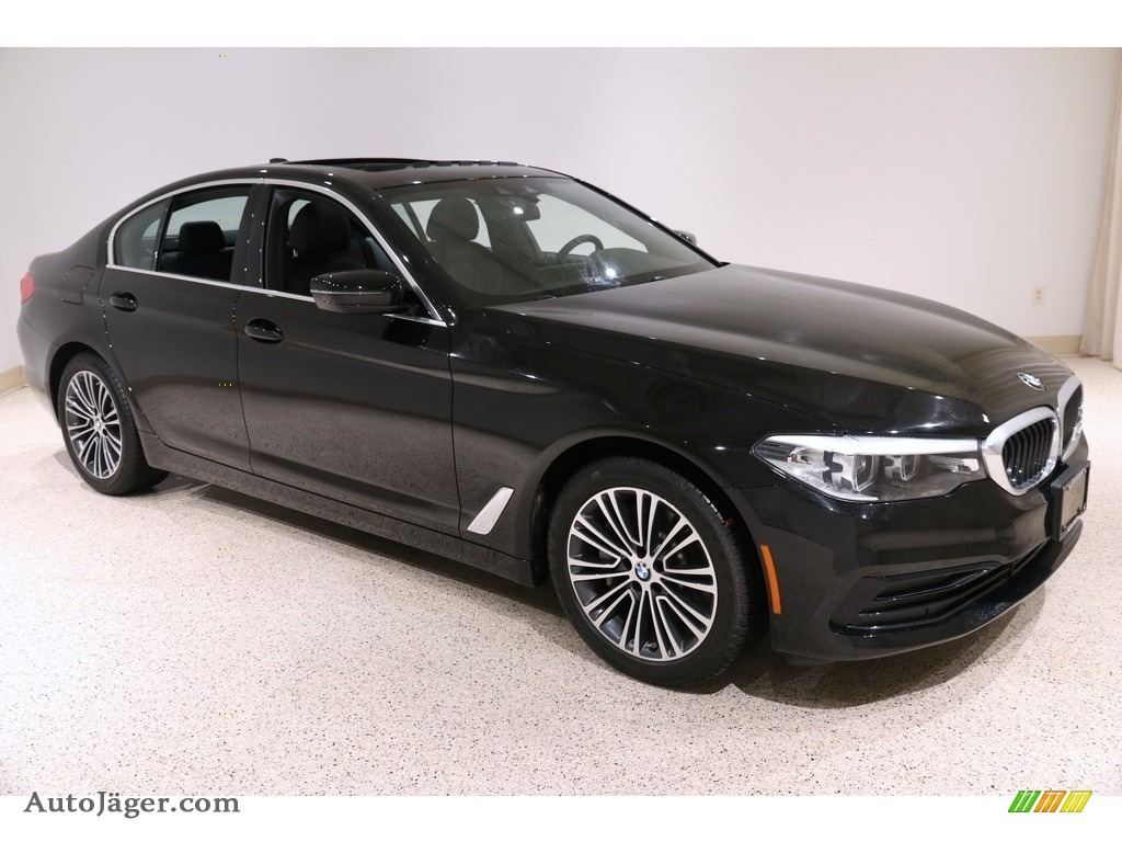 2019 5 Series 530i xDrive Sedan - Jet Black / Black photo #1