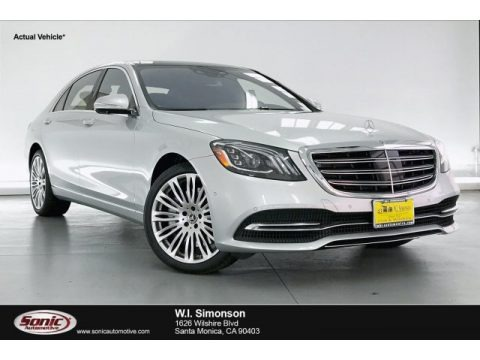 Iridium Silver Metallic 2020 Mercedes-Benz S 560 Sedan