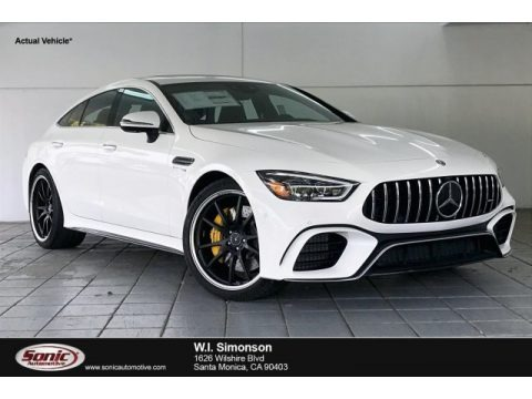 Polar White 2020 Mercedes-Benz AMG GT 63 S