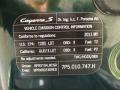 Porsche Cayenne S Jet Green Metallic photo #83