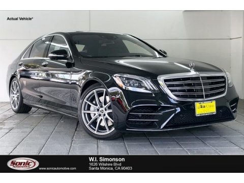 Black 2020 Mercedes-Benz S 560 Sedan