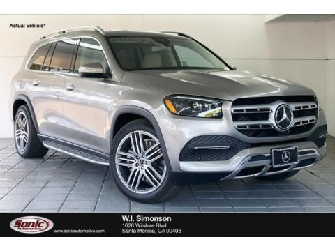 Mojave Silver Metallic 2020 Mercedes-Benz GLS 450 4Matic