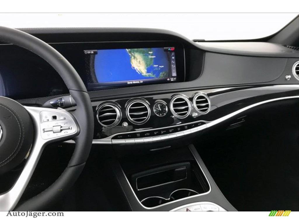 2020 S 560 Sedan - designo Diamond White Metallic / Black photo #6