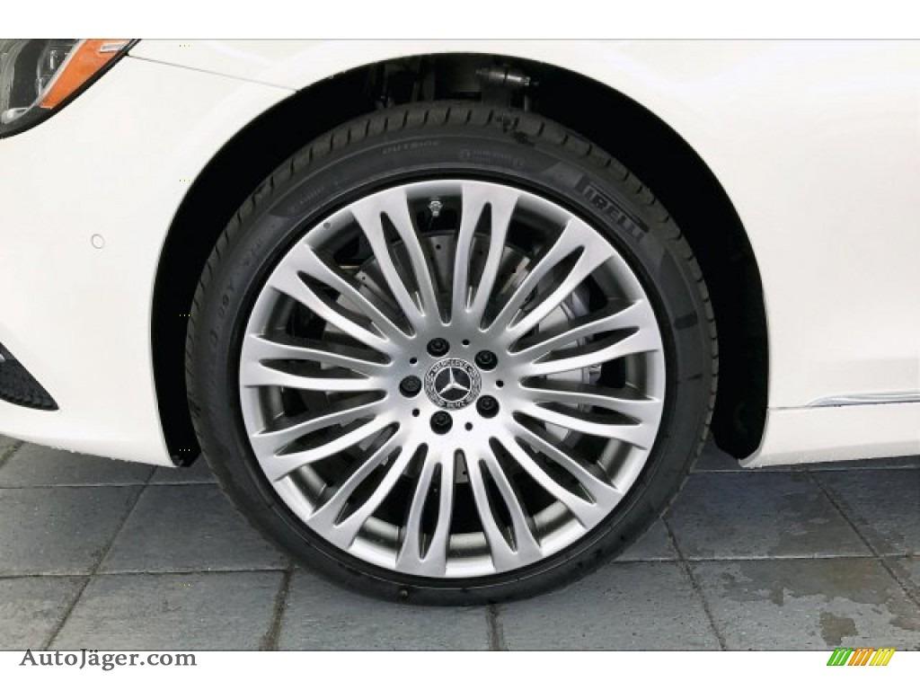 2020 S 560 Sedan - designo Diamond White Metallic / Black photo #9
