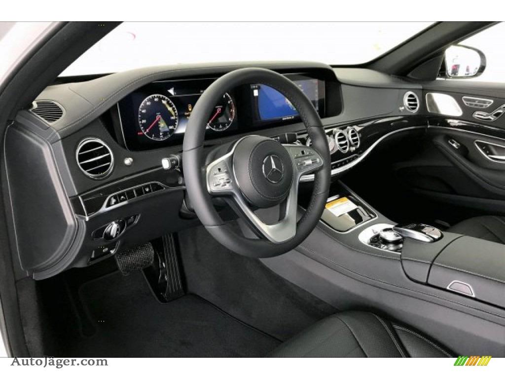 2020 S 560 Sedan - Iridium Silver Metallic / Black photo #4