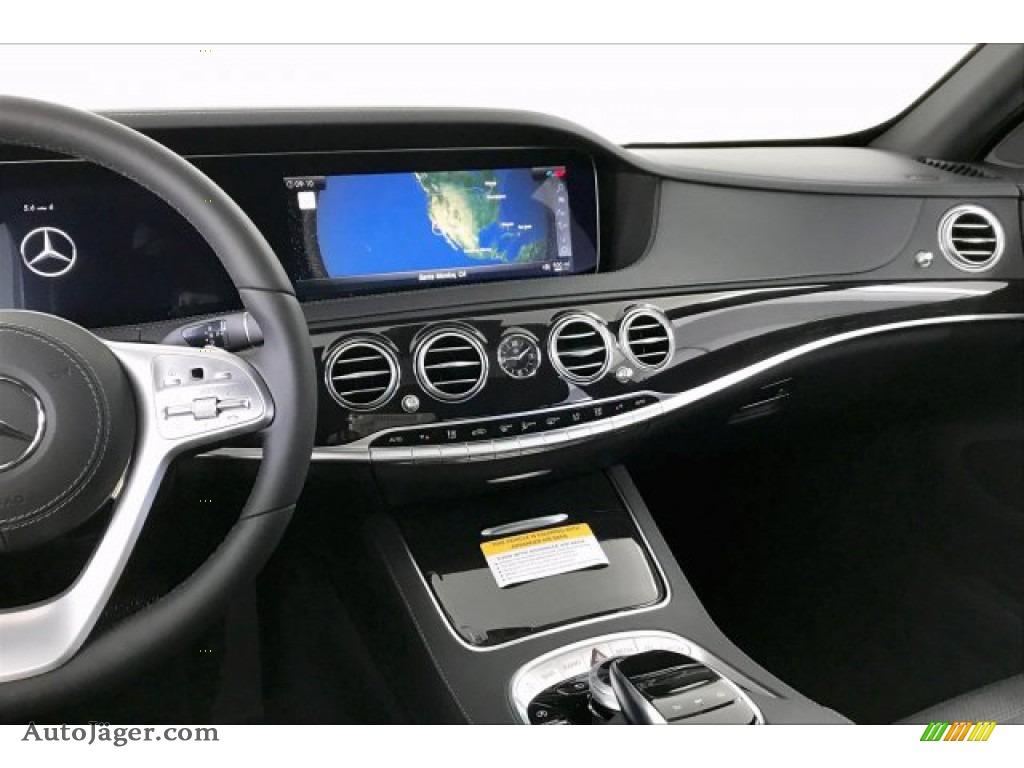 2020 S 560 Sedan - Iridium Silver Metallic / Black photo #6
