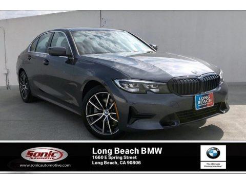 Mineral Grey Metallic 2020 BMW 3 Series 330i Sedan