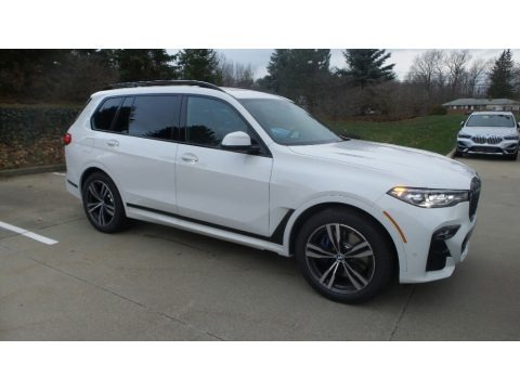 Alpine White 2020 BMW X7 xDrive40i
