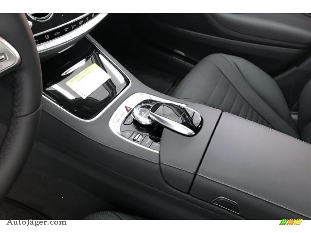 2020 S 560 Sedan - Selenite Grey Metallic / Magma Grey/Espresso Brown photo #7