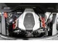 Audi A8 L 3.0T quattro Glacier White Metallic photo #28