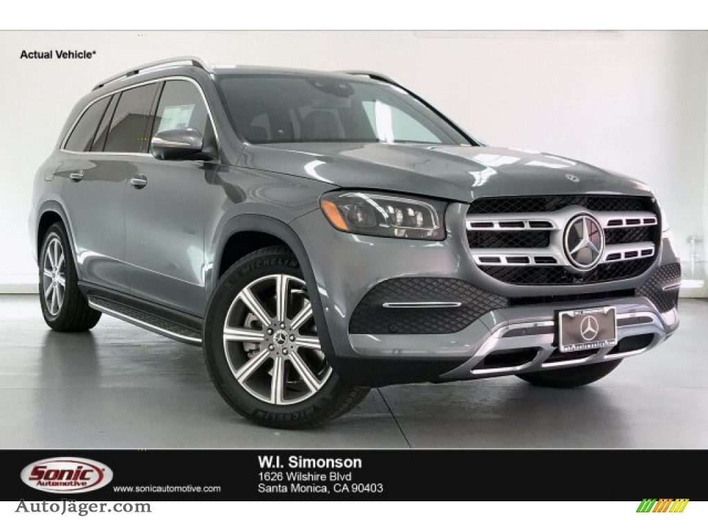 Selenite Gray Metallic / Black Mercedes-Benz GLS 450 4Matic