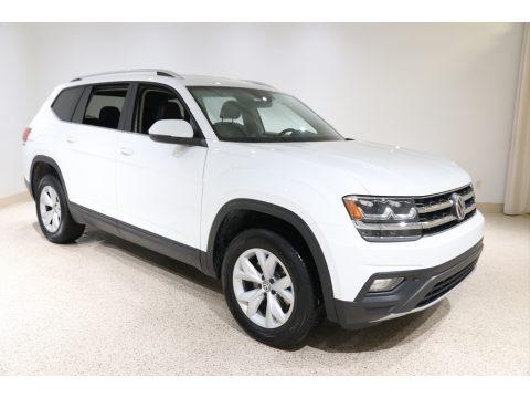 Pure White 2019 Volkswagen Atlas SE