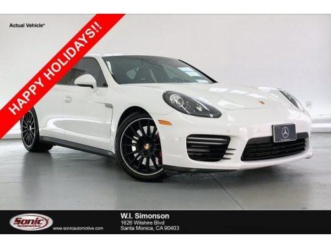 White 2014 Porsche Panamera GTS