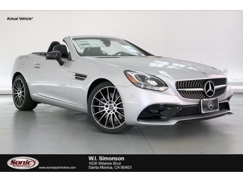 Iridium Silver Metallic 2020 Mercedes-Benz SLC 300 Roadster
