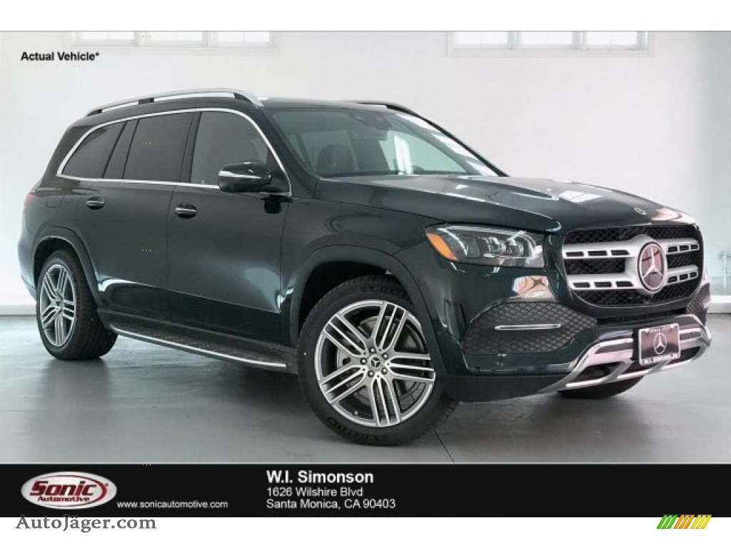 Emerald Green Metallic / Black/Magma Gray Mercedes-Benz GLS 450 4Matic