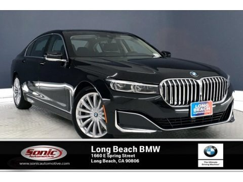 Black Sapphire Metallic 2020 BMW 7 Series 740i Sedan