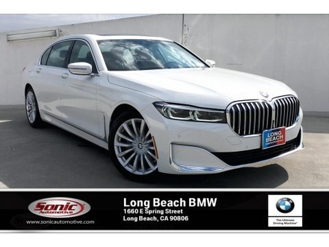 Alpine White 2020 BMW 7 Series 740i Sedan