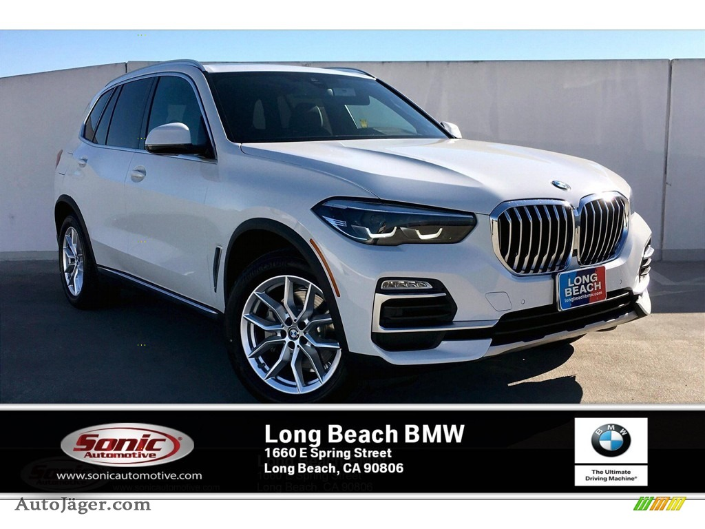 Alpine White / Black BMW X5 sDrive40i