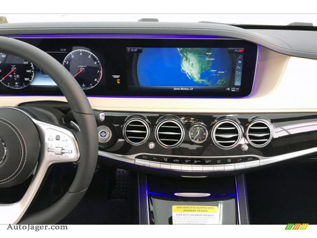 2020 S 560 4Matic Sedan - designo Diamond White Metallic / Porcelain/Black photo #6
