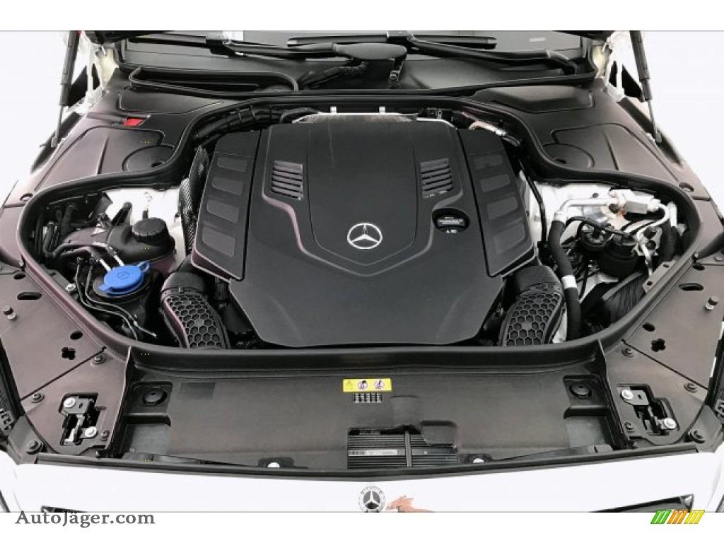 2020 S 560 4Matic Sedan - designo Diamond White Metallic / Porcelain/Black photo #8
