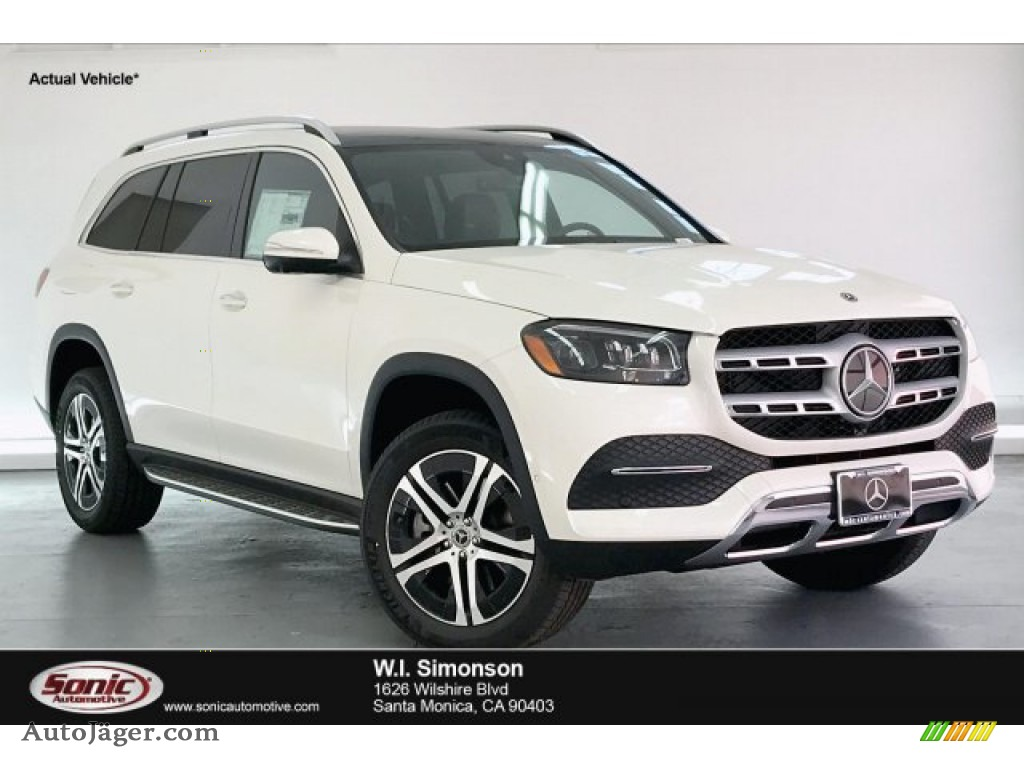 designo Diamond White Metallic / Espresso Brown Mercedes-Benz GLS 450 4Matic