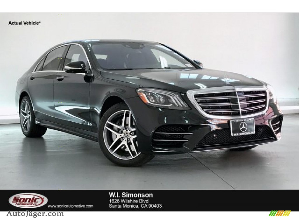 Black / Black Mercedes-Benz S 450 Sedan