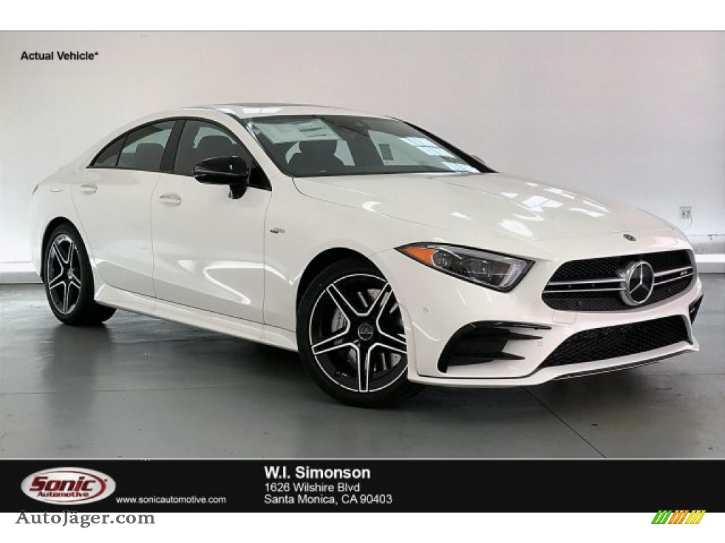 2020 CLS AMG 53 4Matic Coupe - Polar White / Black photo #1
