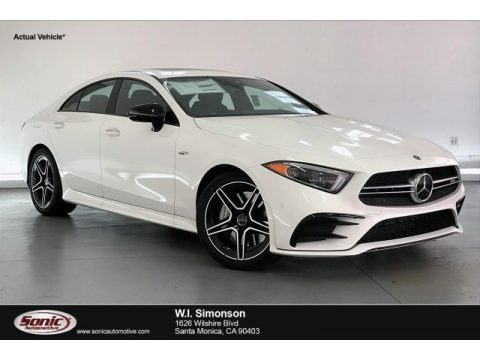 Polar White 2020 Mercedes-Benz CLS AMG 53 4Matic Coupe