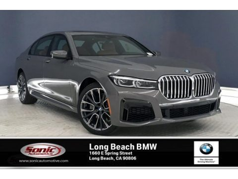 Bernina Grey Amber Effect 2020 BMW 7 Series 740i Sedan