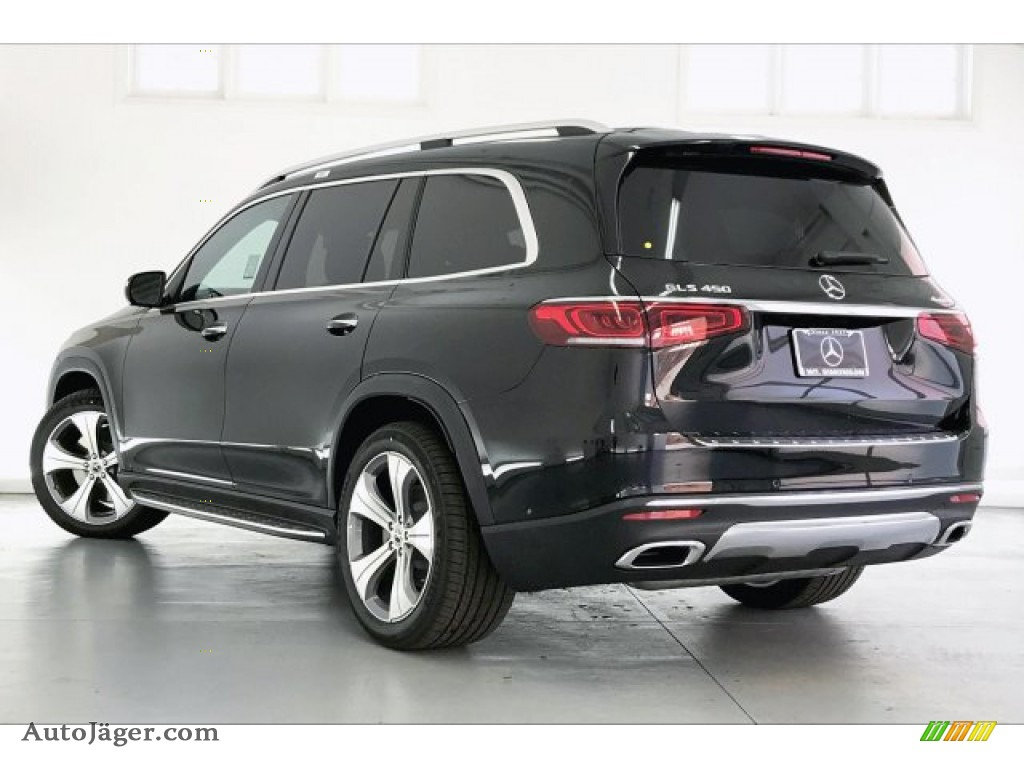 2020 GLS 450 4Matic - Black / Black photo #2