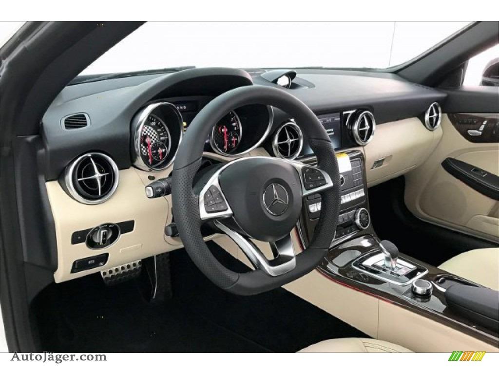 2020 SLC 300 Roadster - designo Diamond White Metallic / Sahara Beige photo #4