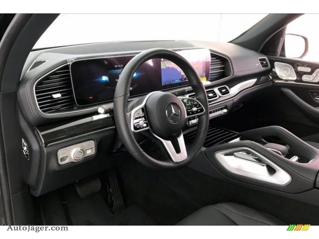 2020 GLS 450 4Matic - Obsidian Black Metallic / Black photo #4